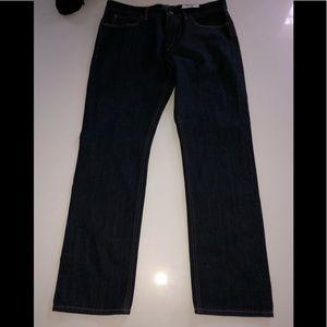 J crew the Sutton Jean nwt 33 X 30 Slim fit dark